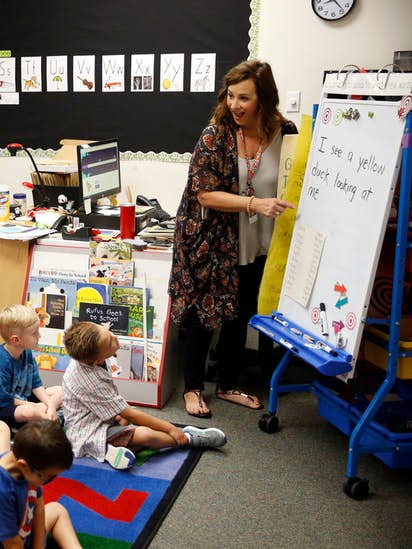 Special Educators Head To Capitol Hill >> Why An Oklahoma Teacher Quit Her Job Left Her Husband Back Home And
