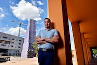 """<p><span style=""""font-size: 1em; background-color: transparent;"""">Benjamín Espino</span><span style=""""font-size: 1em; background-color: transparent;"""">, director of the Latino Cultural Center, aims to help the LCC realize its expansion goals, albeit in a more scaled-back form than was called for in the original plans.&nbsp;</span></p>(Ben Torres/Special Contributor)"""