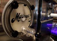 A frozen margarita machine at Mariano's Hacienda in Dallas(Brian Elledge/Staff Photographer)