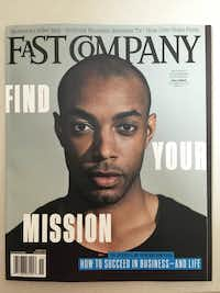 Casey Gerald&nbsp; on the cover of<i> Fast Company.</i>((DMN file)&nbsp;)