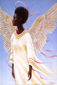 "<p><span style=""font-size: 1em; background-color: transparent;""><i>Angel of Ascension</i> by Arthello Beck, published with permission of his widow Mae Beck.</span></p>( / )"