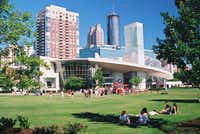 The World of Coca-Cola museum is one of downtown Atlanta's prime attractions(McClatchy-Tribune)