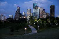 Houston's economy is tied closely to the energy industry and medical community.(Elizabeth Conley/Houston Chronicle)