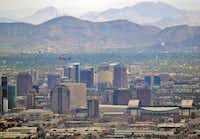 Set in the Sonoran desert, Phoenix is known for its searing summer temperatures.(Matt York/The Associated Press)