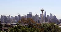 Seattle is known for its high-tech employers — Amazon and Microsoft — but it's also the least affordable among the nation's 10 fastest-growing metro areas.(Elaine Thompson/The Associated Press)