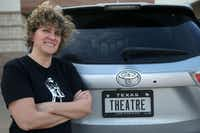 Brick Road Theatre doesn't have its own permanent studio, so Noelle Chesney often transports props back and forth in her car.(Daniel Carde/Staff Photographer)