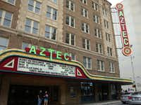 Paranormal experts have reported the presence of ghosts for decades at San Antonio's historic Aztec Theatre.(Robin Soslow/Special Contributor)
