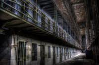 The Ohio State Reformatory in Mansfield, Ohio, hosts the fright-filled Escape From Blood Prison through Nov. 4.(OSR)