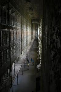 The Ohio State Reformatory, the site of the Escape From Blood Prison production held throughout Halloween season, was the setting for<i>The Shawshank Redemption</i>. It offers tours year-round.(OSR)