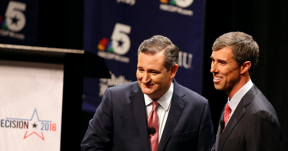 When the smoke clears, the Cruz-O'Rourke race will come down to turnout