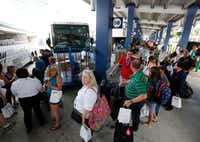 Waiting line is a fact of life aboard most cruise ships. Pack your patience.(Wilfredo Lee/AP)
