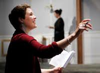 <p>Clare Shaffer will make her&nbsp;North Texas directing debut with <i>A Doll's House, Part 2</i>.</p>(Tom Fox/Staff Photographer)