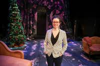 WaterTower Theatre artistic director Joanie Schultz is pictured on the set of WaterTower Theatre's <i>A Doll's House</i>, which she adapted from the Henrik Ibsen play and is directing at Addison Theatre Centre.(Ryan Michalesko/Staff Photographer)
