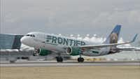 A Frontier Airlines flight from Florida to Ohio was delayed nearly two hours on Tuesday after a woman tried to fly with her emotional support squirrel.(Frontier Airlines/TNS)