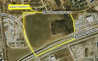 The planned development is just across the highway from the $3 billion Legacy West project.(City of Frisco)