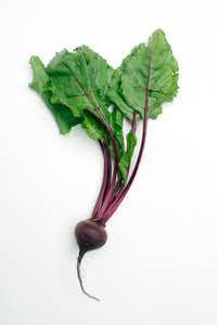 Beet greens can be eaten fresh or cooked.(LARS KLOVE/NYT)