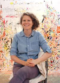 Artist Dana Schutz, honored artist at the 2018 TWO x TWO for AIDS and Art in Dallas.(Lucas Page/Dana Schutz; Petzel, New York)