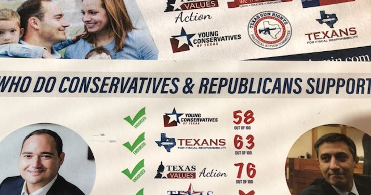 who is really behind the logos on the political flyers in your mailbox watchdog dallas news