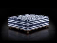 Hastens Vividus bespoke bed is $189,000.(Hastens)
