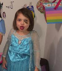 Leiliana Wright was beaten to death in March 2016 but showed signs of abuse months earlier.(Amy Pleasants)