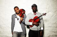 Black Violin brings blassical meets hip-hop to the Levitt Pavilion.