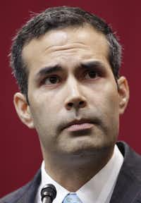 Texas Land Commissioner George P. Bush (Vernon Bryant/Staff Photographer)
