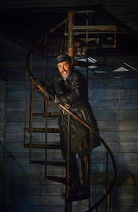 Mark S. Doss as Daland, in dress rehearsal of the Dallas Opera's <i>The Flying Dutchman</i>. (Robert W. Hart/Special Contributor