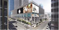 The former First National Bank tower is being redeveloped into a mixed-use project called The Drever.(Drever Capital Management)