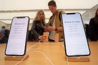 Black Friday is typically one of the few times of the year when retailers discount Apple products to attract shoppers.(Patrick Sison/AP)