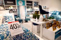 "January usually brings ""white sales"" on bedding and linens at department stores such as J.C. Penney.(Tom Fox/Staff Photographer)"