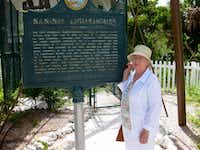 Jane Jones, at Sanibel Island in Florida.(Mary Jacobs)