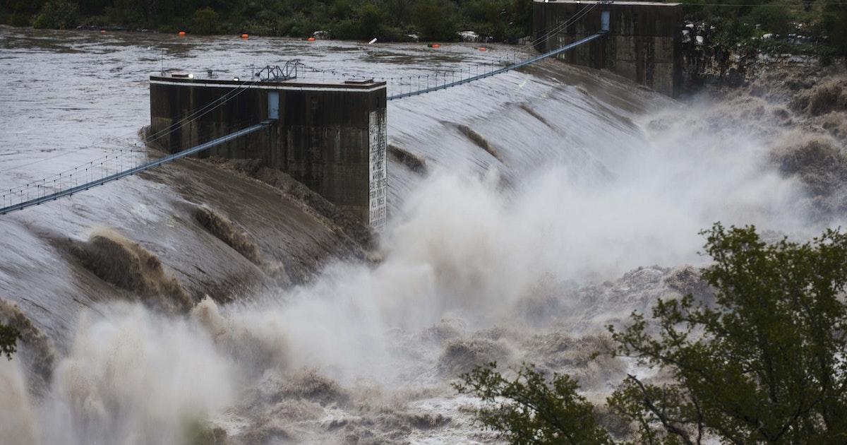 Body Found In Rain Swollen Lake Floodwaters Destroy