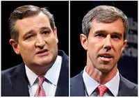"<p><span style=""font-size: 1em; background-color: transparent;"">Sen. Ted Cruz (left) and Rep. Beto O'Rourke have both raised massive amounts of money to fund their battle for the U.S. Senate.</span><span style=""font-size: 1em; background-color: transparent;"">)</span></p>(Tom Fox/Staff Photographer)"