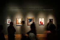 """""""'The Cult of the Machine: Precisionism and American Art""""(Nathan Hunsinger/Staff Photographer)"""