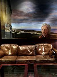 "<p>Artwork adorns the walls of the windowless bar at Hotel Holt,<span style=""font-size: 1em; background-color: transparent;"">Reykjavík</span></p>(Nan Coulter/Special Contributor)"