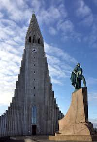 "<p><p>Leif Erikson Memorial,<span style=""font-size: 1em; background-color: transparent;"">Hallgrímskirkja</span><span style=""font-size: 1em; background-color: transparent;"">,</span><span style=""font-size: 1em; background-color: transparent;"">Reykjavík</span><span style=""font-size: 1em; background-color: transparent;"">, Iceland</span></p></p>(Nan Coulter/Special Contributor)"