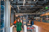 The Amazon Go store in Seattle, Sept. 19, 2018. The e-commerce giant uses its headquarters city as a living laboratory, trying out new retail and logistics models.(Eirik Johnson/New York Times)
