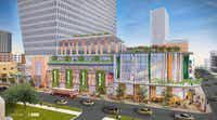 <p>The Central Market grocery store will be on the ground floor of a high-rise office and retail complex on McKinney Avenue.<br></p>(Omniplan)