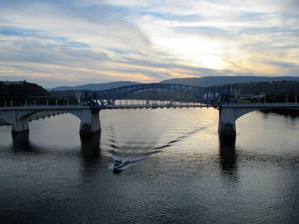 Have fun playing on or beside the Tennessee River, which runs through downtown Chattanooga.(Robin Soslow/Special Contributor)
