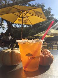 A pumpkin margarita(Laura Dailey)