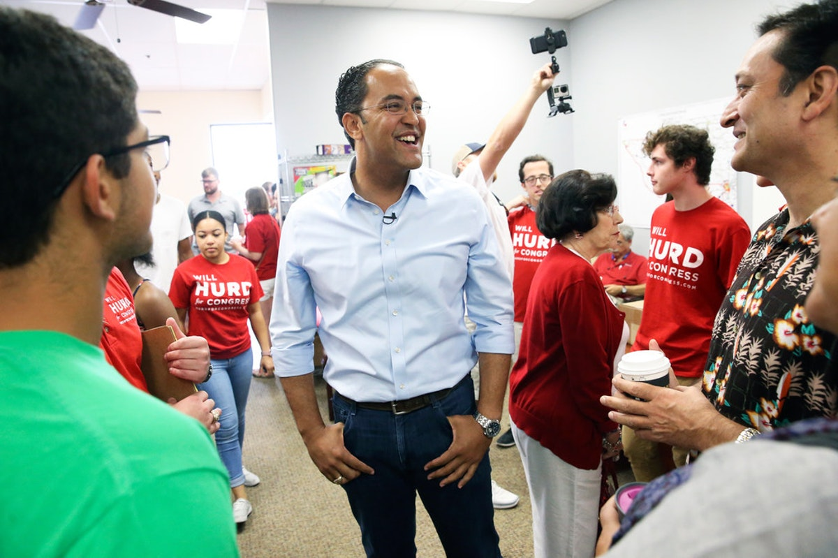 Town halls in Dairy Queens? Rep. Will Hurd wants Texas' only swing district to digest his message