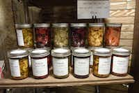 Find sumptuous jarred local goods from chef Robert Lyford at Patina Green Home and Market in McKinney.(Kim Pierce/Special Contributor)
