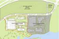Plans filed with the town of Westlake show that Charles Schwab plans to double the size of its regional campus.(Corgan)