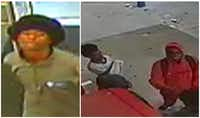 Police released surveillance images of the four suspects in Saturday's robbery.(Fort Worth police)