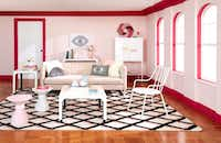 For its first home collection collaboration, Amazon teamed with designer Jonathan Adler, who created furniture, textiles and accents for the Now House line.(Amazon)