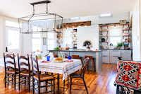 Kitchens are a natural gathering spot, so make sure to leave room for people, says Tara Lenney.(Tara Lenney Design)