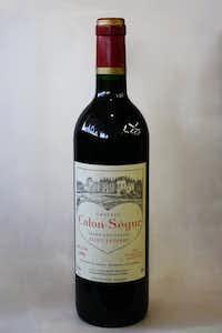 1996 Chateau Calon-Segur  en magnum (1.5 liter = two 750ml bottles)(Alfonso Cevola/Special Contributor)