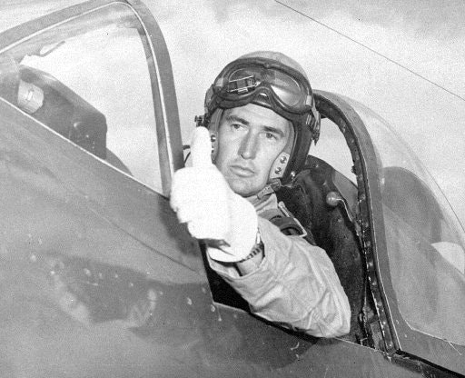 Ted Williams Met George H W Bush In Combat Pilot Training And
