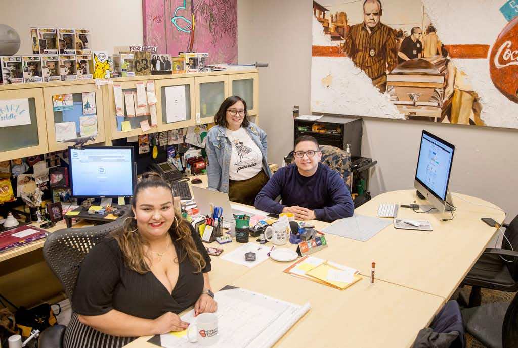 Fueled by Trump's election, this Dallas art collective puts Latino culture front and center