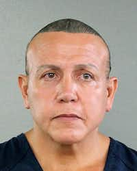 In this undated photo released by the Broward County Sheriff's office, Cesar Sayoc is seen in a booking photo in Miami. Federal authorities took  Sayoc, 56, of Aventura, Fla., into custody Friday.(AP)